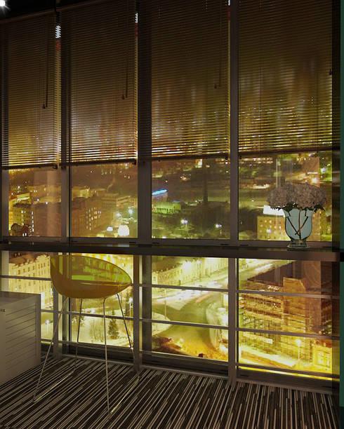 Дизайн-проект квартиры г. Екатеринбург ЖК Крыловъ: Tерраса в . Автор – Девятайкина Софья ( АРТ-мастерская 'Stylishdesign')