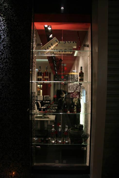 Bar Pasticceria: Negozi & Locali commerciali in stile  di FRANCESCO CARDANO Interior designer