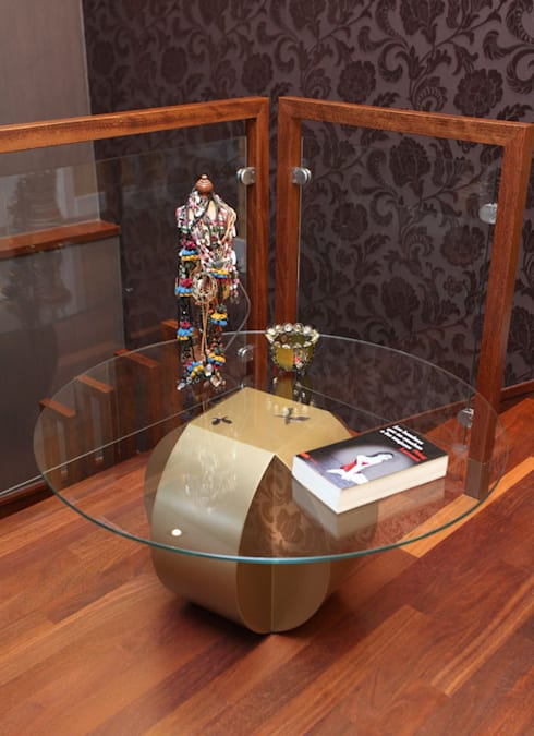 Mesa Centro Esfera Küpu:  de estilo  de Küpu Muebles Inesperados