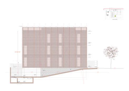 Centro de Soporte Territorial del Instituto Geológico de Catalunya en Tremp (IGC): Oficinas y Tiendas de estilo  de Oikosvia arquitectura sccl