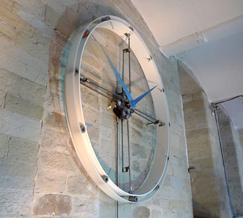 Breathing Clock - Angled View:  Household by BLOTT WORKS