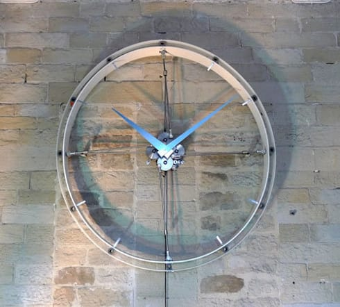 Breathing Clock - front view:  Household by BLOTT WORKS
