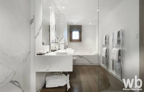 Bespoke Bathroom:  Bathroom by Wilkinson Beven Design