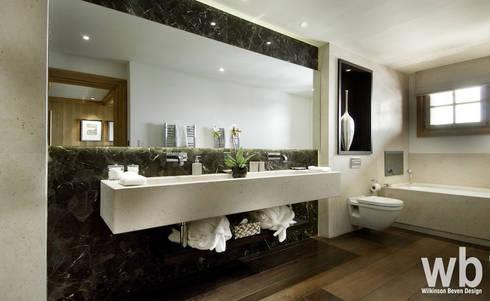 Bespoke Bathrooms: classic Bathroom by Wilkinson Beven Design