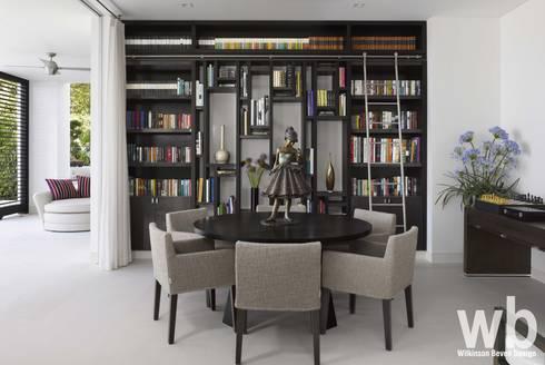 Modern Caribbean Villa: modern Dining room by Wilkinson Beven Design
