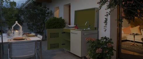 Cozinhas ecléticas por Mobilificio Marchese