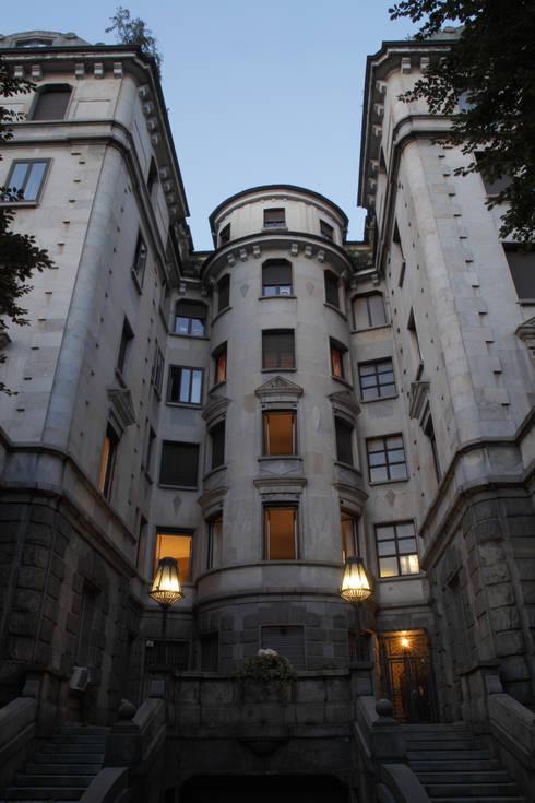 APARTMENT BIANCAMARIA: Case in stile in stile Moderno di PAOLO FRELLO & PARTNERS