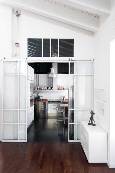 LOFT: Cucina in stile  di PAOLO FRELLO & PARTNERS
