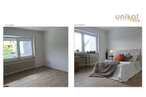Einfamilienhaus mit Garten:   von Unikat-home staging