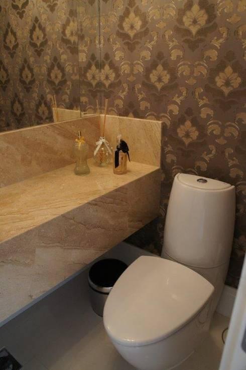 Lavabo: Banheiros modernos por Triple Arquitetura