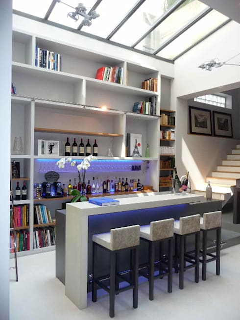 Hoteles de estilo  por Concrete LCDA