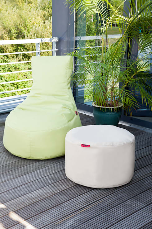 outbag outdoor beanbags sitzs cke von global bedding gmbh co kg homify. Black Bedroom Furniture Sets. Home Design Ideas