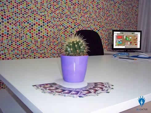 BluCACTUS design-Studio: Studio in stile in stile Eclettico di blucactus design Studio