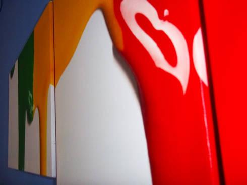 BluCACTUS design Studio: Studio in stile in stile Eclettico di blucactus design Studio