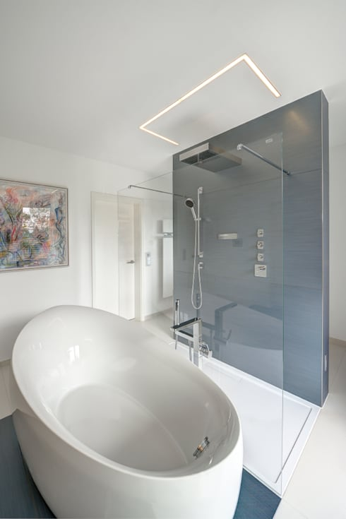 Casas de banho modernas por Innenarchitektin Katrin Reinhold