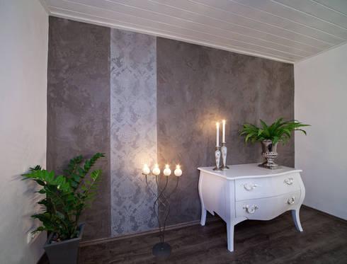Wohnraum wandgestaltung mit marmorputz buchholz - Wandgestaltung bad putz ...