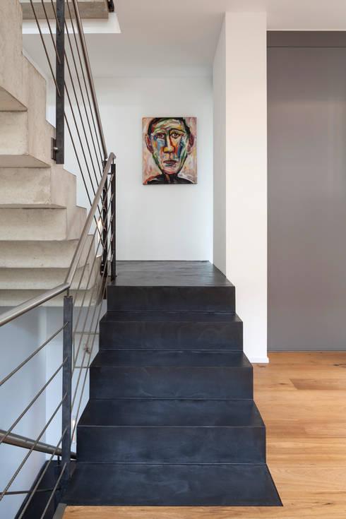 Beton Ciré Auf Treppe