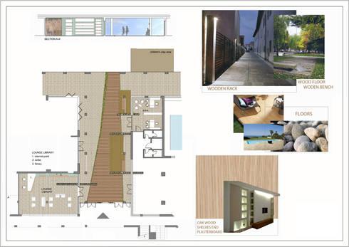 Hapimag resort: Spa in stile in stile Moderno di Laura Marini Architetto