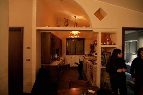 La <q>Faveur</q>: Soggiorno in stile in stile Moderno di Marco Maria Statella - Architect