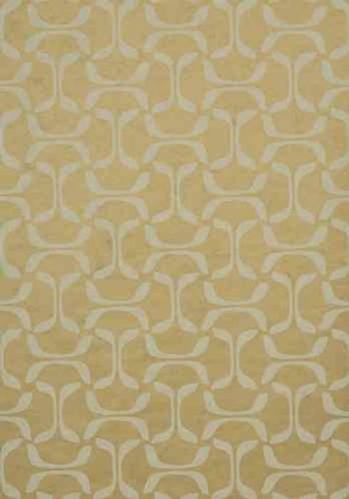 PAPEL PINTADO SAROKA ORO METALICO: Paredes y suelos de estilo minimalista de Demarques.es