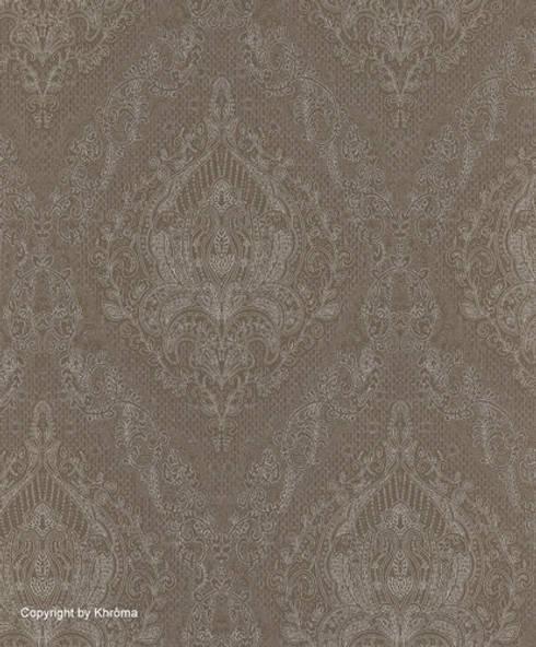 PAPEL PINTADO KHARAT MASTIC: Paredes y suelos de estilo clásico de Demarques.es