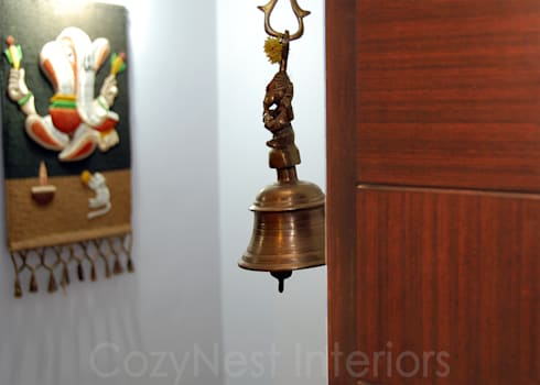 Ramaiyan Residence: modern Houses by Cozy Nest Interiors
