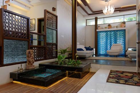 A.B.Residence: modern Conservatory by Cozy Nest Interiors
