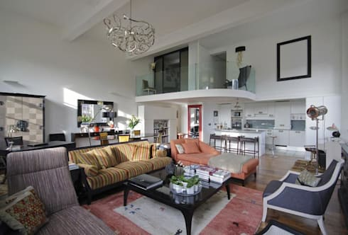 NSDA SHOWROOM: eclectic Living room by NSDA