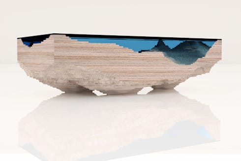 THE ABYSS TABLE:   by Duffy London