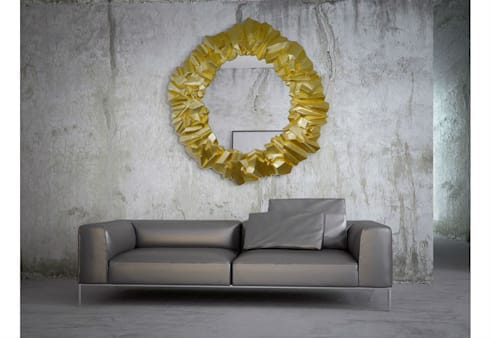 Mirror Glamour Queen: eclectic Living room by Adonis Pauli HOME JEWELS