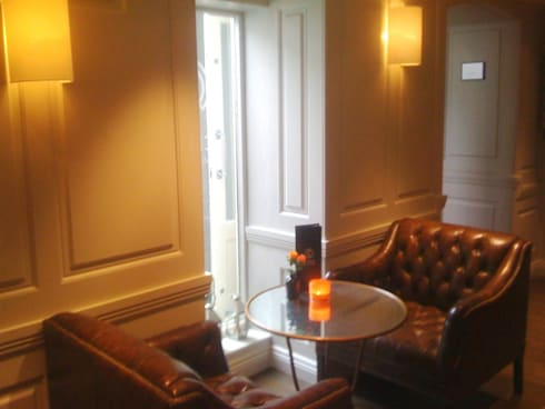 Halcyon Boutique Hotel Bath:  Walls & flooring by The UK's Leading Wall Panelling Experts Team
