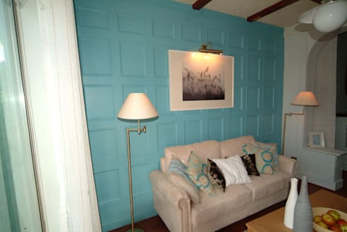 60 Minute Wall Panelling with Interior Designer John Amabile:  Walls & flooring by The UK's Leading Wall Panelling Experts Team