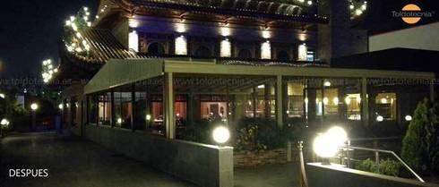 Galileo: Locales gastronómicos de estilo  de Toldotecnia