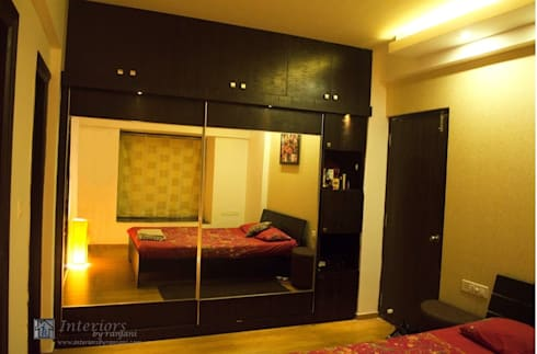 Rajshree Sanjay-NeoTown, EC: modern Bedroom by Interiors by ranjani