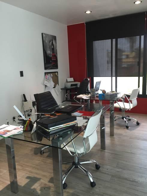 Oficinas disain: Oficinas y tiendas de estilo  por disain arquitectos