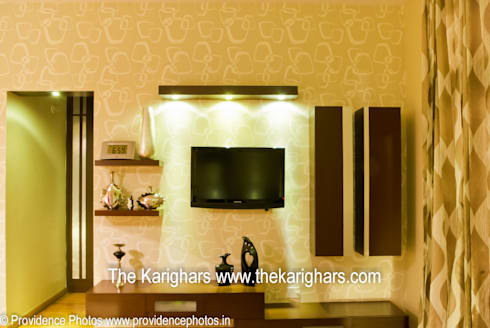 Master Bedroom TV Unit by The KariGhars | homify