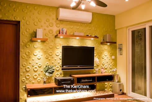Master Bedroom Tv Unit master bedroom tv unitthe karighars | homify