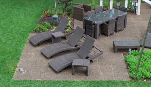 Bodenbeläge garten  Die Terrasse im Garten von WARCO Bodenbeläge | homify