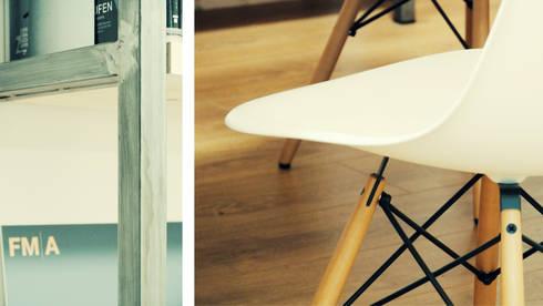 FMA home|office: Studio in stile  di FMA STUDIO