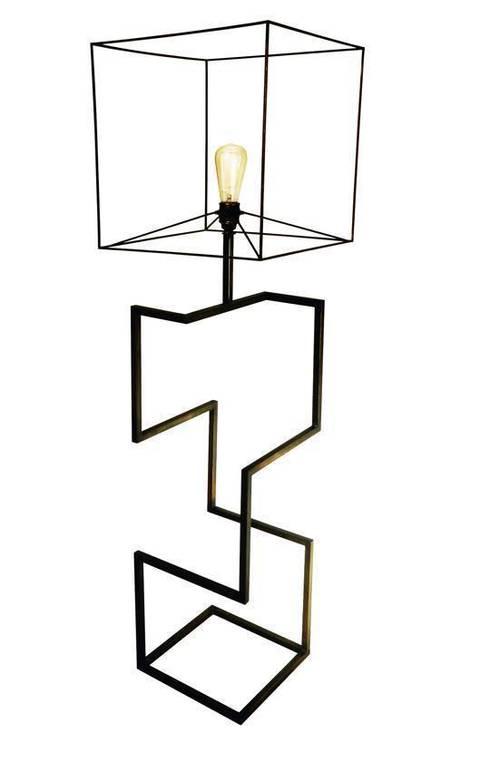Sophia Lamp: Soggiorno in stile in stile Moderno di Francesco Della Femina