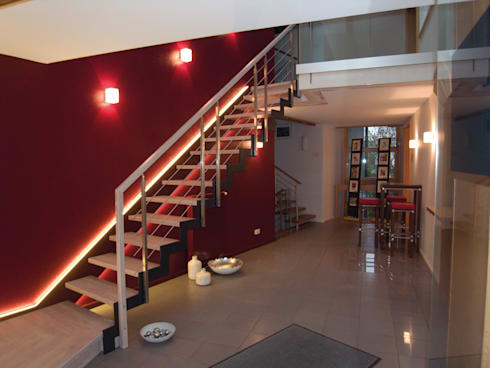 stahlwangentreppe ferro von wei treppen gmbh homify. Black Bedroom Furniture Sets. Home Design Ideas
