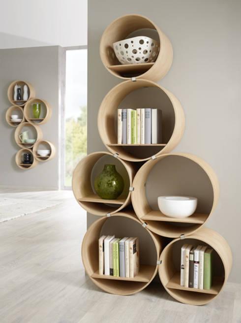 Flexi Tube Nature: ausgefallene Arbeitszimmer von Kißkalt Designs