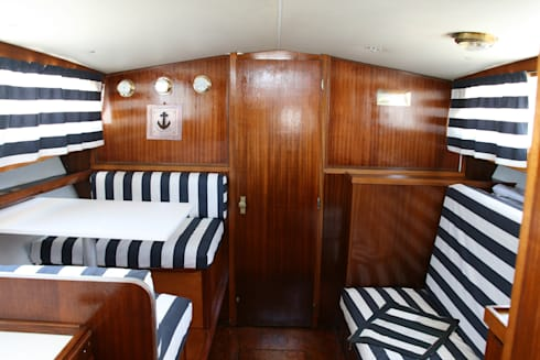 The captain's word is Law: Yacht & Jet in stile in stile Coloniale di Laura Marini Architetto