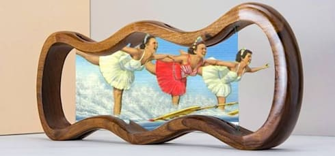 Humour Wood Laura G art with Heart :  in stile  di LAURA G