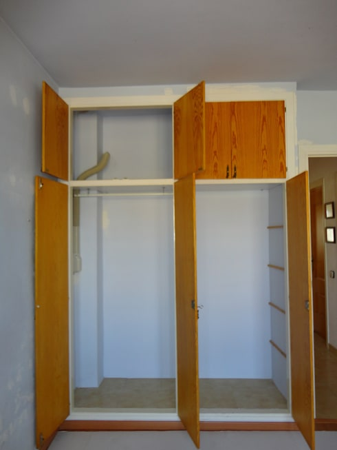 Termina con los viejos armarios de obra.cambia de estilo:  de estilo  de GASENI-fusteria i mobles scp ( Armaris Gaseni )