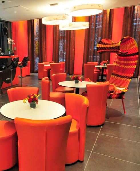 Restaurant Côté Berthelot:  de style  par Agence Philippe BATIFOULIER Design