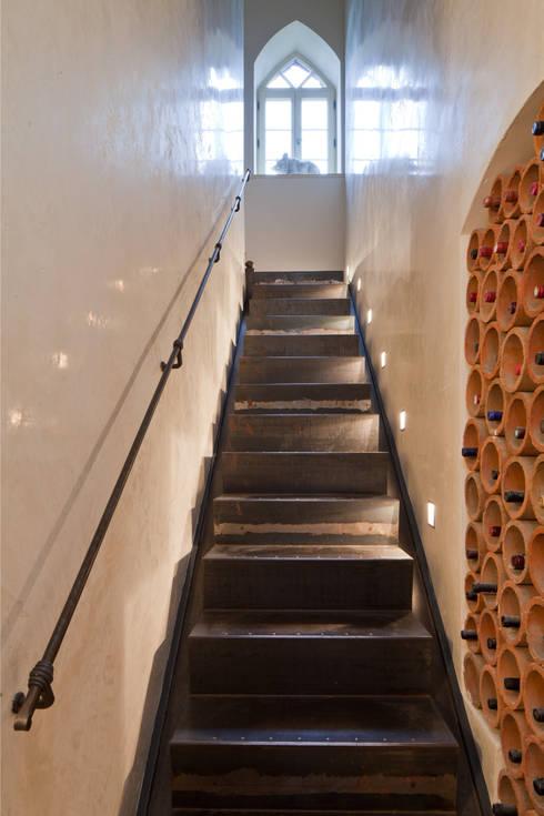 Treppenhaus-Gestaltung Mit Marmorputz, Gesindehaus, Bad Hönningen