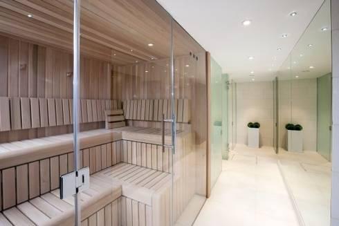 Bespoke Custom Built Saunas:  Spa by Leisurequip Limited