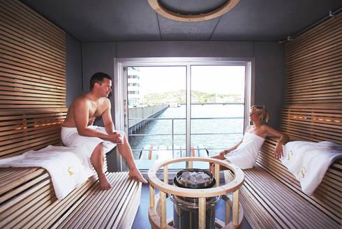 Bespoke sauna:  Spa by Leisurequip Limited