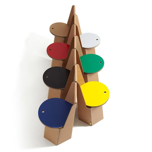 Cardboard Furniture: Casa in stile  di Mobilificio Marchese